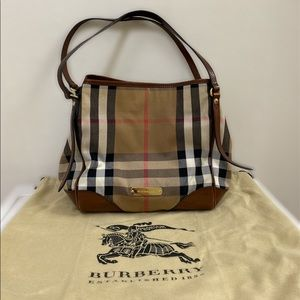 Authentic Burberry Canterbury Tote